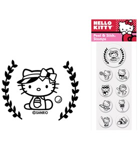 Custom Rubber Stamp Inserts - Hello Kitty (Set of 9) Image