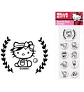 Custom Rubber Stamp Inserts - Hello Kitty