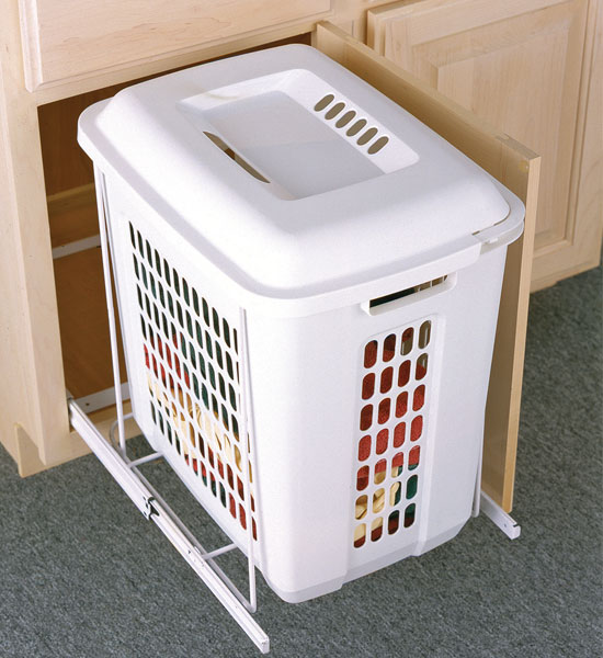 Roll Out Cabinet Hamper In Clothes Hampers