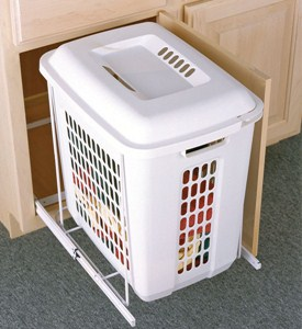 Roll-Out Cabinet Hamper Image