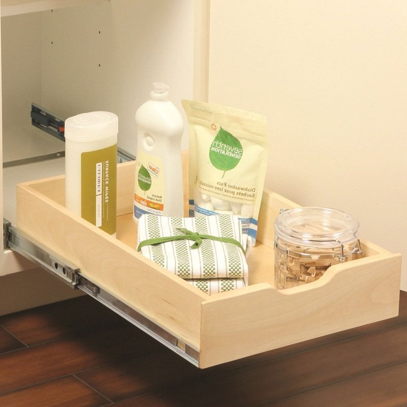Wood Pull Out Cabinet Shelf In Pull Out Cabinet Shelves