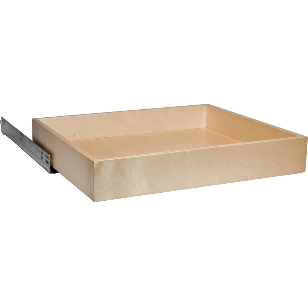 Pull Out Cabinet Shelf   18 Inch Deep Image