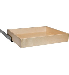 Pull Out Cabinet Shelf - 21 Inch Deep Image