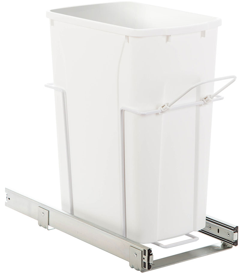 pullout cabinet trash can 35 quart