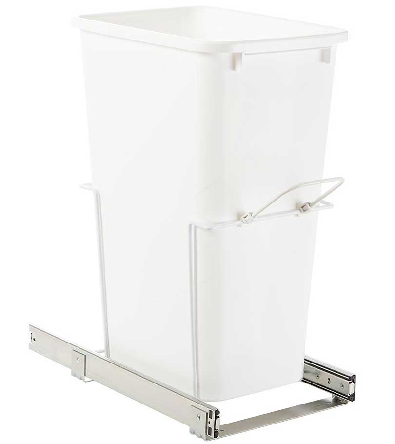 Sliding Kitchen Cabinet Wastebasket