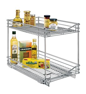 Pull Out Kitchen Organizer - 14 Inch Image