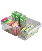 Pullz Divided Cabinet Shelf Organizer