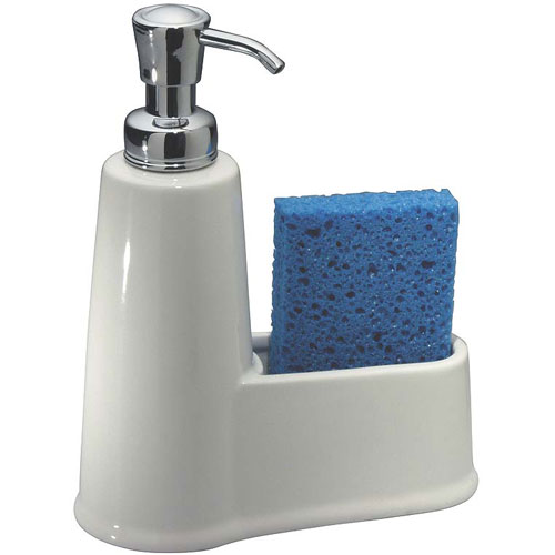 York Soap And Sponge Caddy In Soap Dispensers