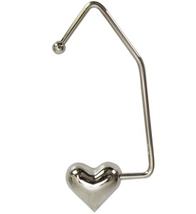 Purse Hook - Heart Image