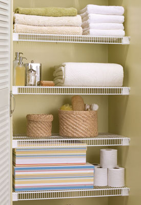 Lifetime Ventilated Wire Closet Shelving at Organize-It