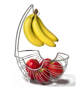 Pantry Works Fruit Basket and Banana Holder Image