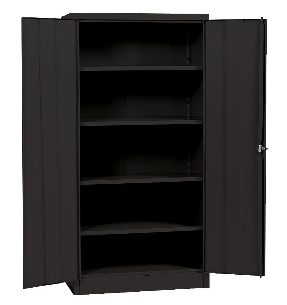 Quick assembly steel cabinet by edsal in storage cabinets for Cabinets quick