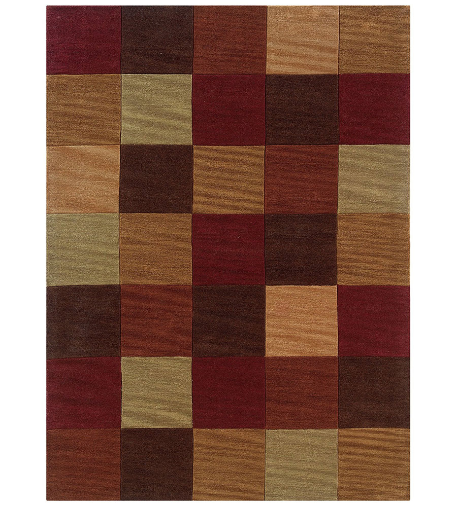 Quilt Pattern Area Rug In Patterned Rugs
