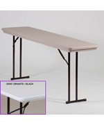 R Series 18x72 Off-Set Leg Folding Seminar Table by Correll
