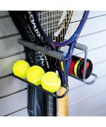 Garage Grid and StoreWall Racquet Holder Rack