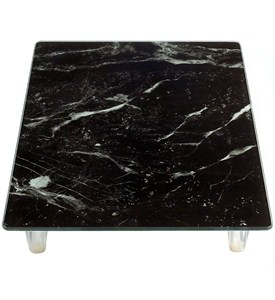Raised Cutting Board - Glass Image