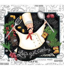 Recipe Book - Happy Chef Image