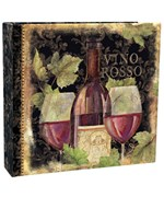 Recipe Card Binder - Gilded Wine