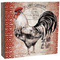 Recipe Card Binder - Rooster