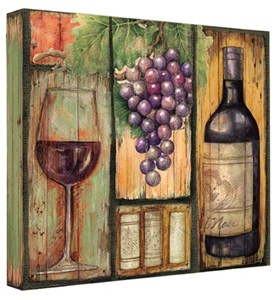 Recipe Card Binder - Wine Country Image
