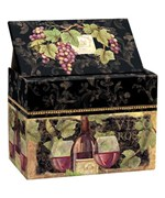 Recipe Card File Box