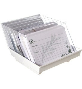 Recipe File Card Organizer Image