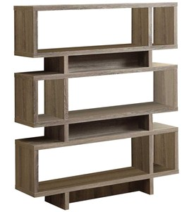 Reclaimed Look 55 Inch H Modern Bookcase Image