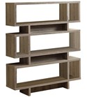 Reclaimed Look 55 Inch H Modern Bookcase