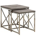 Reclaimed Look Nesting Tables