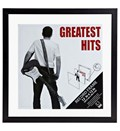 Record Album Frame - 12 x 12 - Black