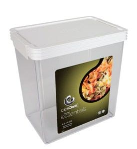 Rectangle Click Clack Canister - 4.5 Quarts Image
