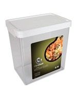 Rectangle Click Clack Canister - 4.5 Quarts