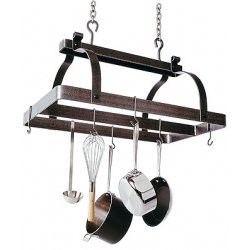 Rectangle Pot Rack with Center Bar Image