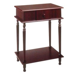 Rectangle Side Table - Cherry (28 Inch ) by O.R.E. Image