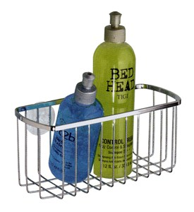 Stainless Rectangle Suction Basket Image