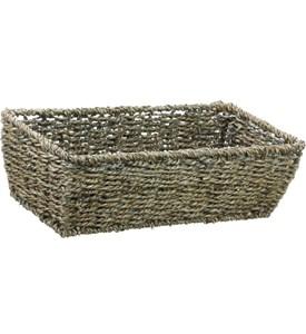 Rectangular Storage Basket In Wicker Baskets