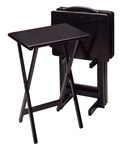 Rectangular TV Tables - Black