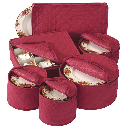 Holiday china storage set in china storage for Signoraware organise your kitchen set 8 pieces