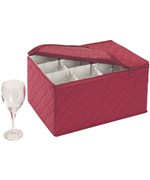 Holiday Stemware Chest
