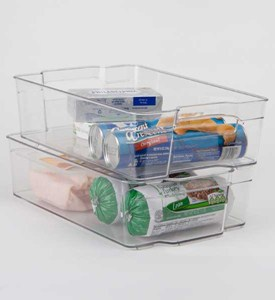 Refrigerator Bin - 12 x 8 Inch Image