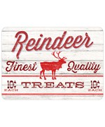 Reindeer Treats Home Floor Mat