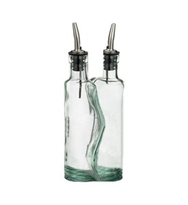 Retro Glass Puzzle Cruet Set Image