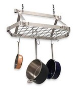 Retro Rectangle Hanging Pot Rack