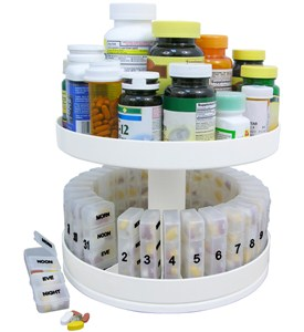 Vitamin and Medicine Bottle Organizers Ask Our OrganizerAsk Our