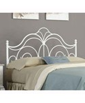 Rhapsody Glossy White Headboard by Fashion Bed Group