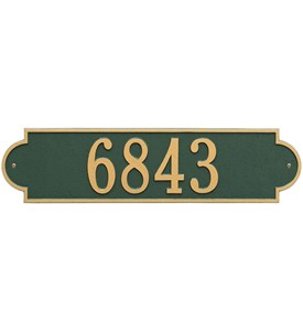 Richmond Horizontal Wall Plaque - Estate One-Line Image