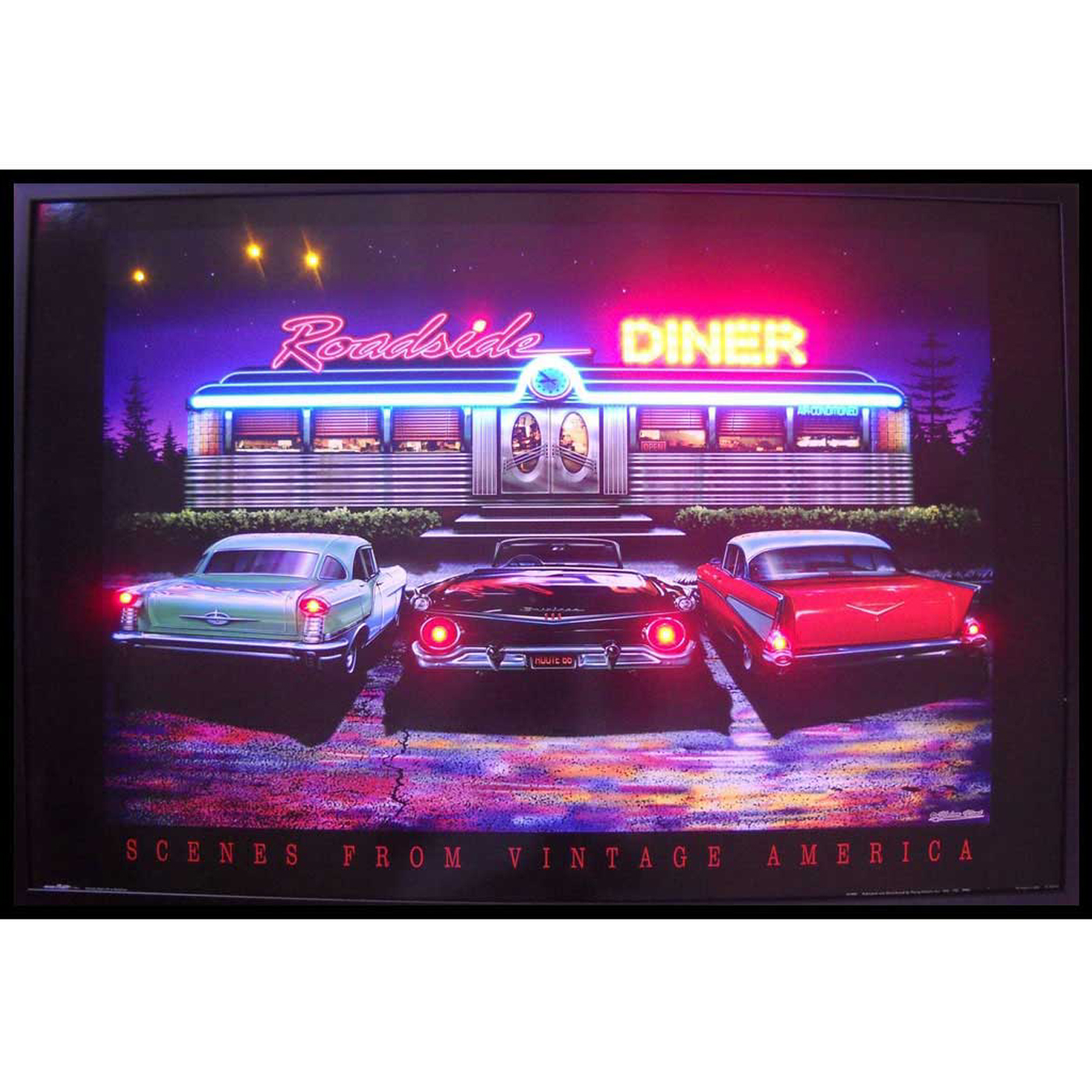 roadside diner neon led art picture by neonetics in neon light art. Black Bedroom Furniture Sets. Home Design Ideas
