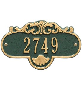 Rochelle Petite Wall Address Plaque Image