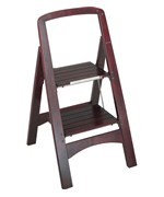 Rockford Two-Step Step Stool - Mahogany