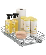 Roll-Out Cabinet Organizer - 11 x 21 Inch